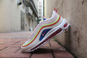"Nike WMNS Air Max 97 SE ""Panache Pack"" - Sail/Arctic Pink/Volt Glow #AQ4137-101-Preorder Item-Navy Selected Shop"