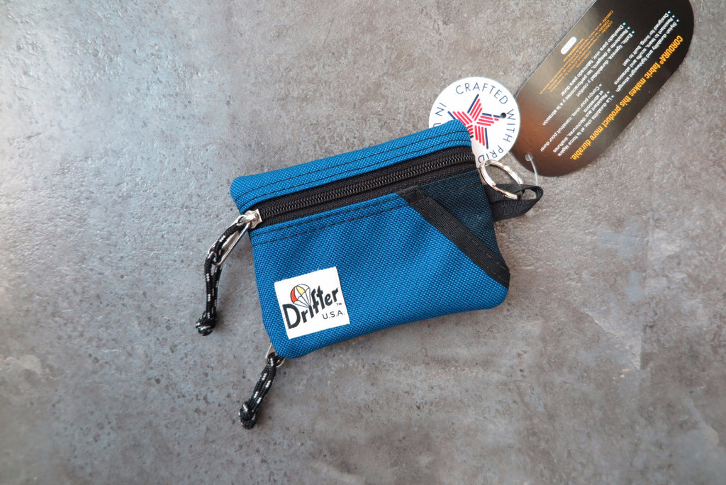 "Drifter Key Coin Pouch ""Made in USA"" - Blue/Navy #DF0230-Bag-Navy Selected Shop"