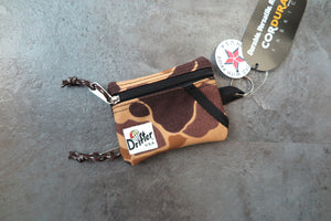 "Drifter Key Coin Pouch ""Made in USA"" - WW2 Autumn Camo #DF0230-Bag-Navy Selected Shop"