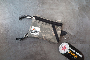 "Drifter Key Coin Pouch ""Made in USA"" - Digital Camo #DF0230-Bag-Navy Selected Shop"