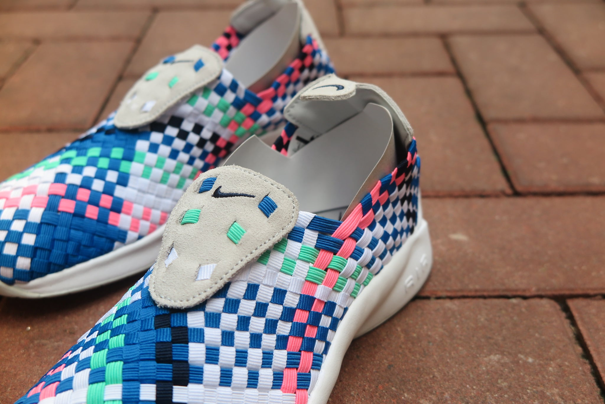 Nike Air Woven - Pure Platinum/Obsidian/White/Blue Nebula #312422-008-Preorder Item-Navy Selected Shop
