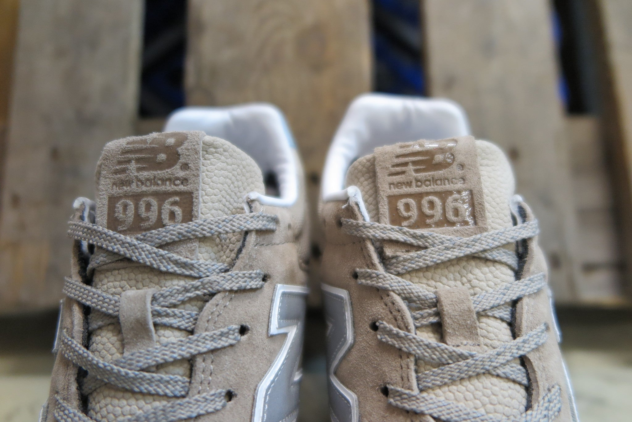 "Invincible X New Balance MRL996IN ""Brogue""-Sneakers-Navy Selected Shop"