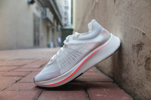 Nike Zoom Fly SP - White/Bright Crimson/Sail #AJ9282-106-Sneakers-Navy Selected Shop