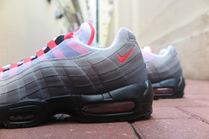Nike Air Max 95 OG - White/Solar Red/Granite/Dust #AT2865-100-Preorder Item-Navy Selected Shop