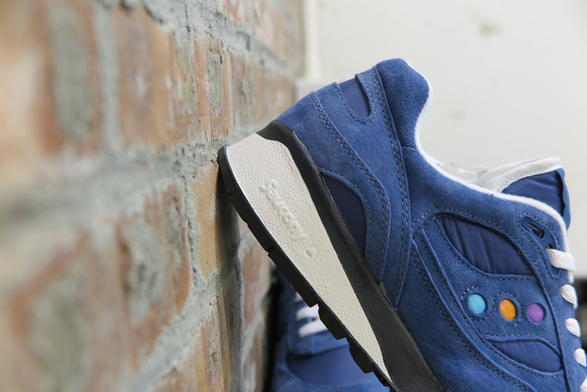 Babochka x Saucony Shadow 6000 in Blue #S70152-1 ****Rare****-Sneakers-Navy Selected Shop