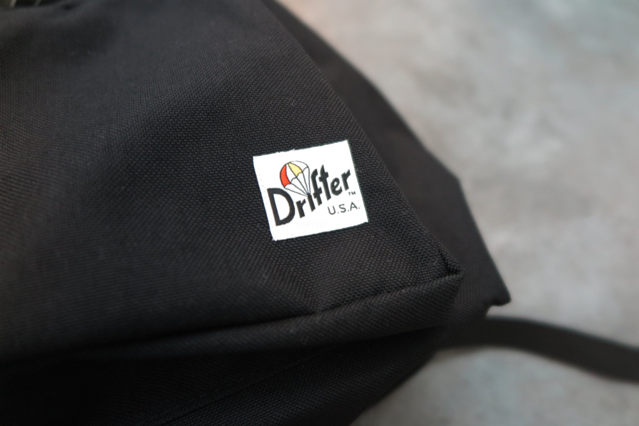 "Drifter Day Pack ""Made in USA"" - Black #DF0420-Bag-Navy Selected Shop"