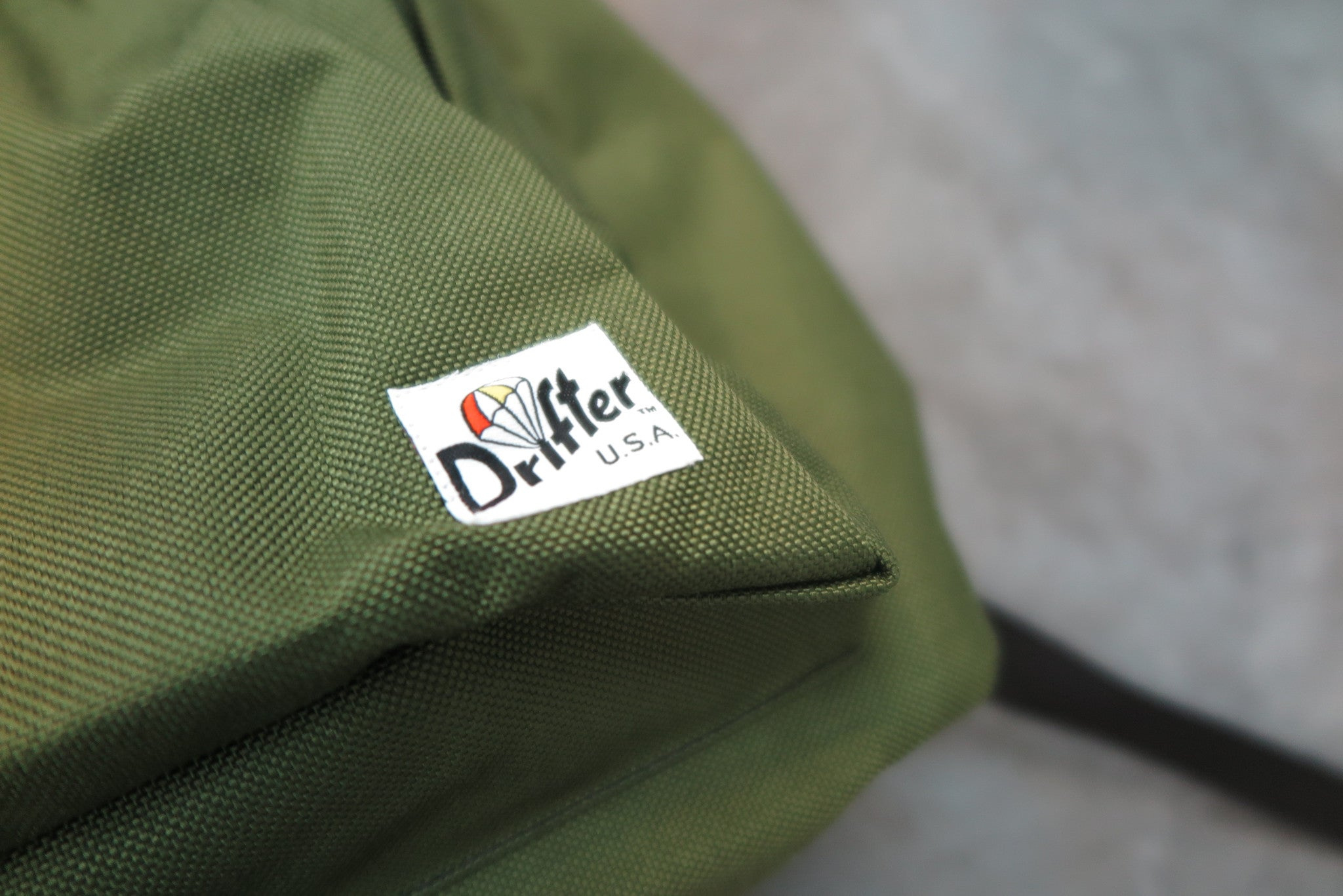 "Drifter Day Pack ""Made in USA"" - Olive #DF0420-Bag-Navy Selected Shop"
