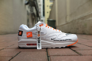 "Nike Air Max 1 SE ""Just Do It"" - White/Total Orange #AO1021-100-Preorder Item-Navy Selected Shop"