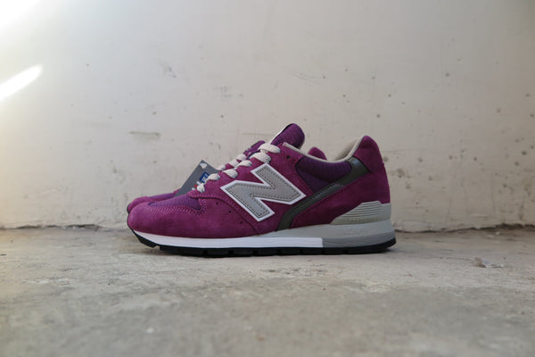 New Balance M996PU Made in USA-Sneakers-Navy Selected Shop