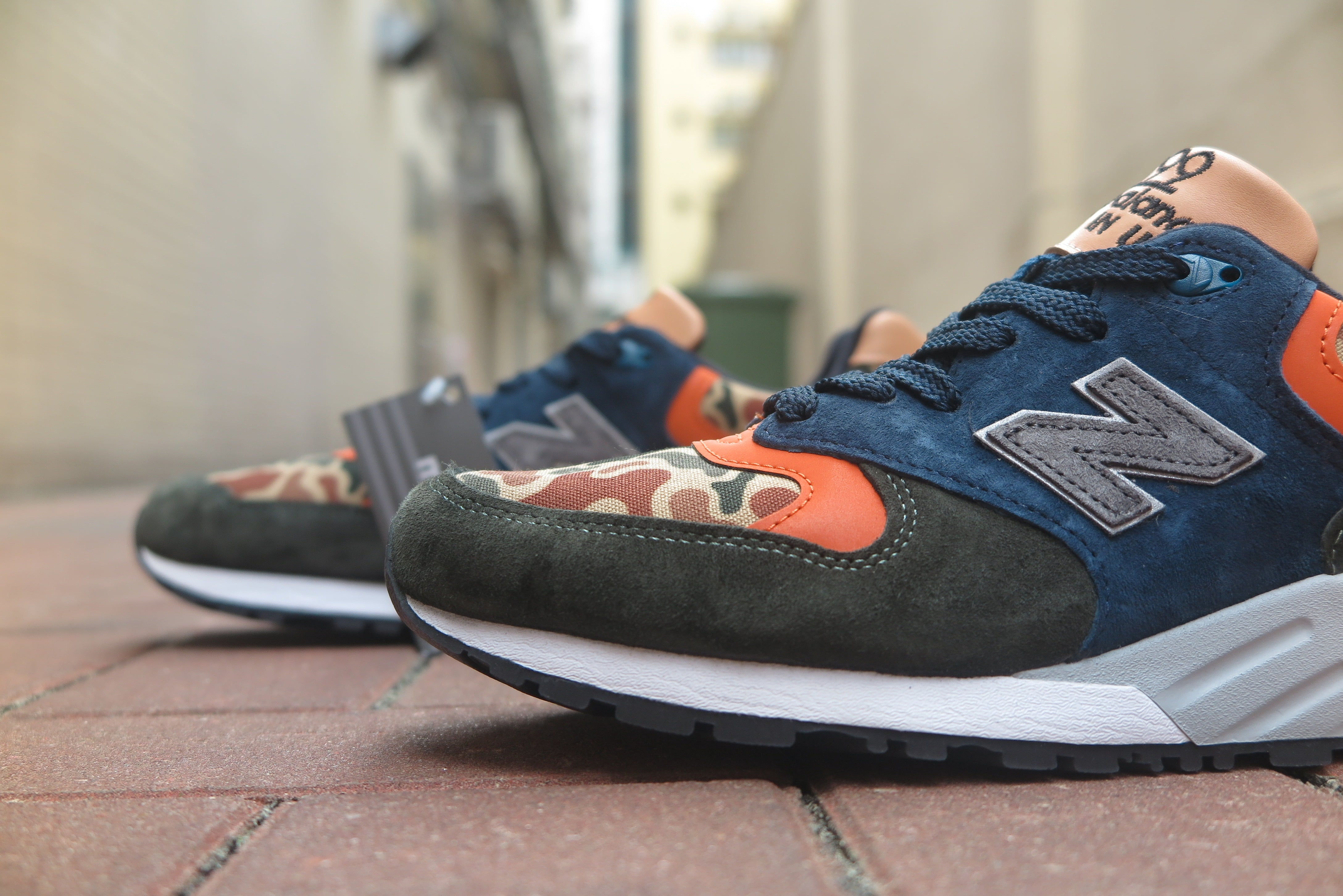 New Balance M999NI Made in USA-Preorder Item-Navy Selected Shop