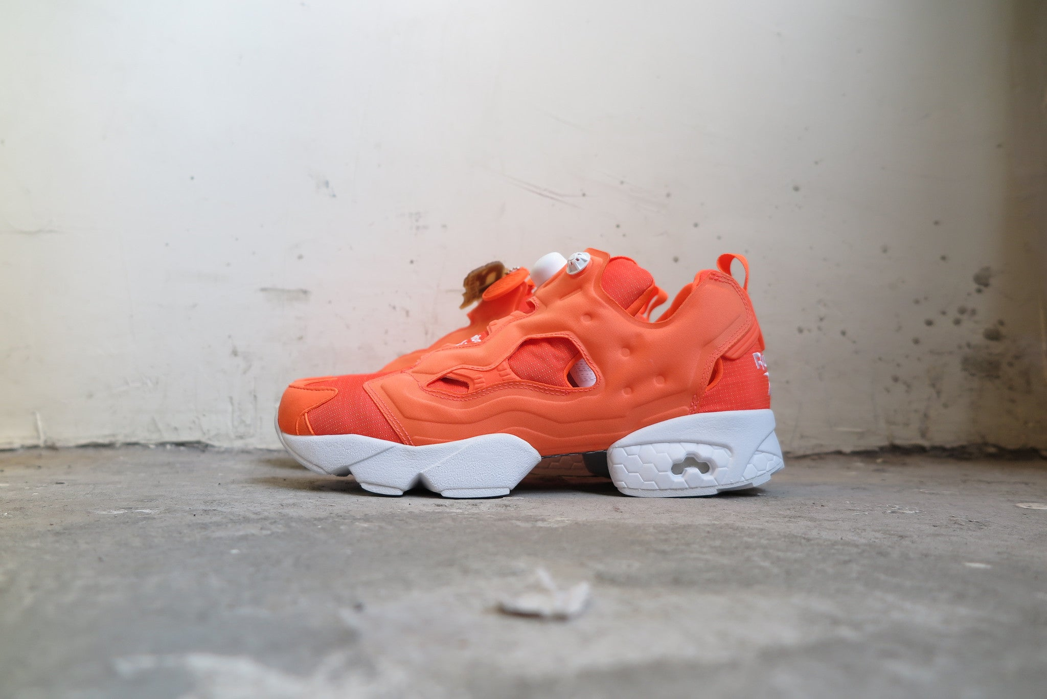 Reebok Instapump Fury Tech - Solar Orange  M46319-Sneakers-Navy Selected  Shop 7110e94e2