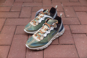 Undercover x Nike React Element 87 - Green Mist/Linen/Summit White #BQ2718-300-Sneakers-Navy Selected Shop