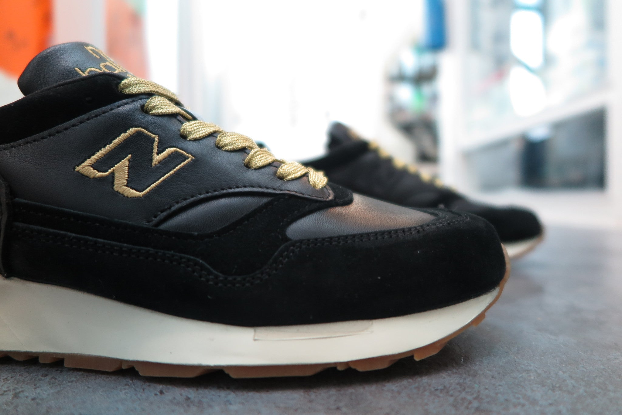 Foot Patrol X New Balance M1500FPK Made in England-Sneakers-Navy Selected Shop