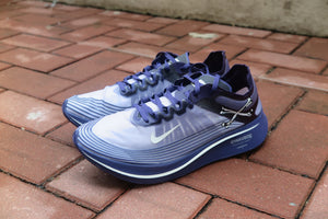 Gyakusou x Nike Zoom Fly SP - Ink/Sail/Dark Grey/Black #AR4349-500-Sneakers-Navy Selected Shop