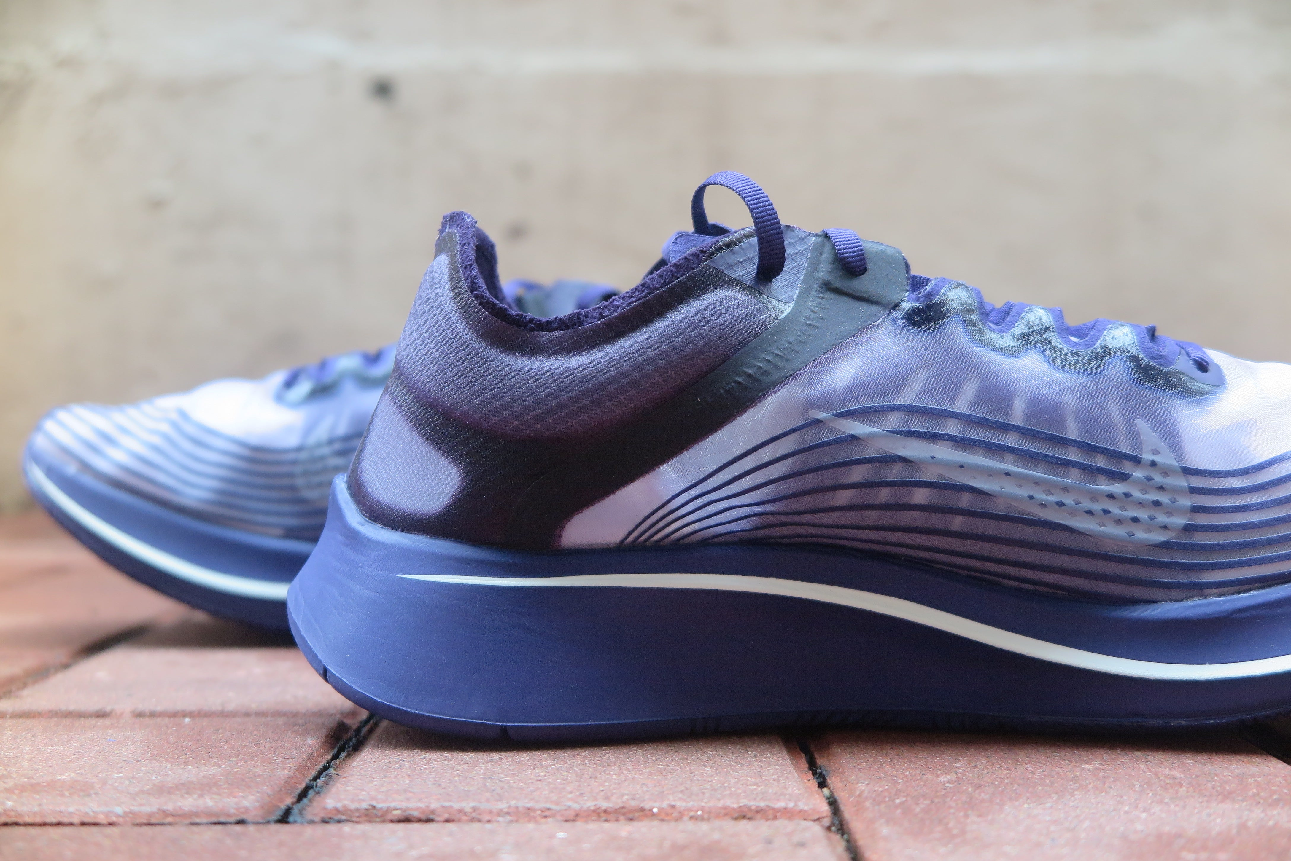 Gyakusou x Nike Zoom Fly SP - Ink/Sail/Dark Grey/Black #AR4349-500-Preorder Item-Navy Selected Shop