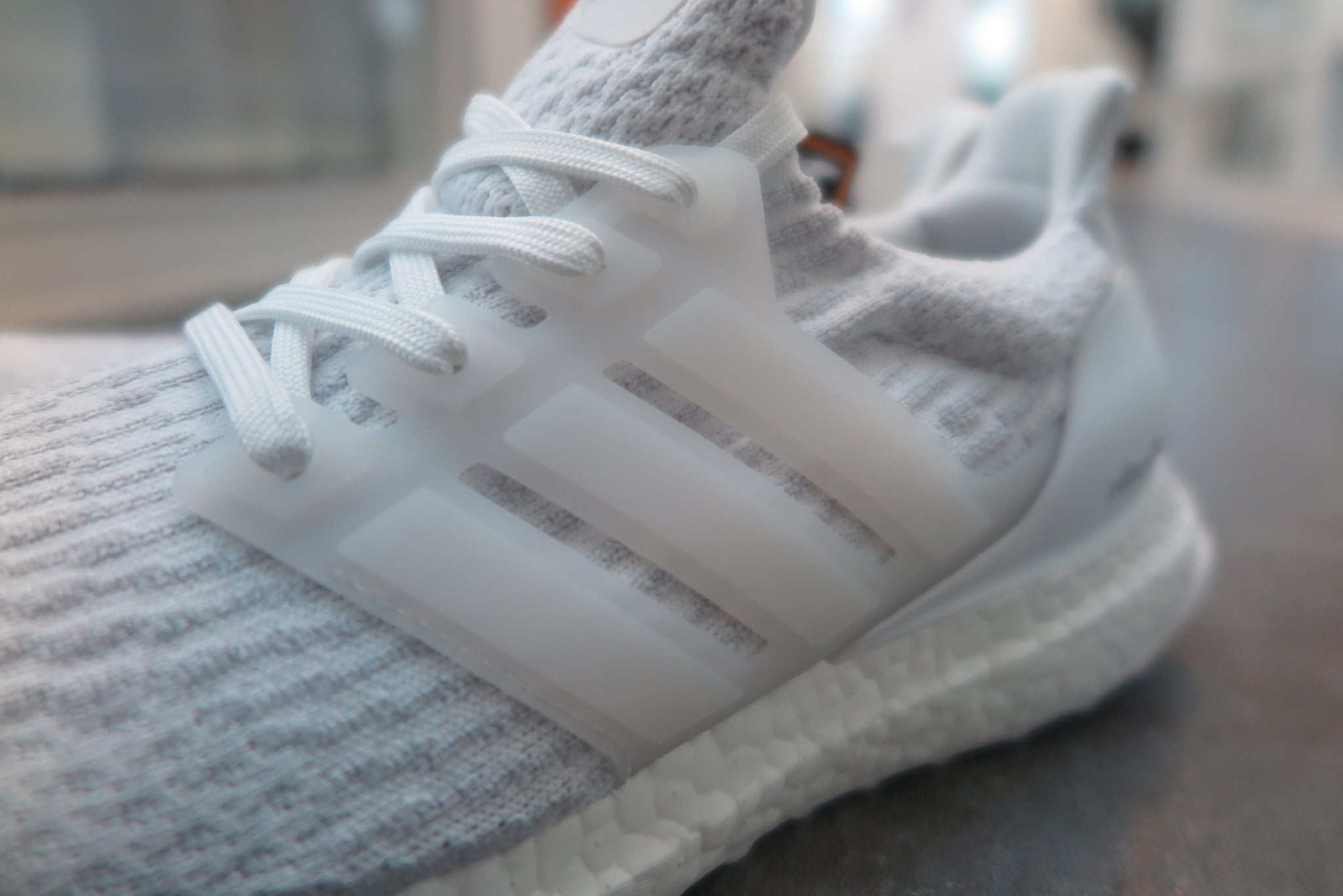 adidas Ultra Boost 3.0 - Footwear White/Crystal White #BA8841-Sneakers-Navy Selected Shop