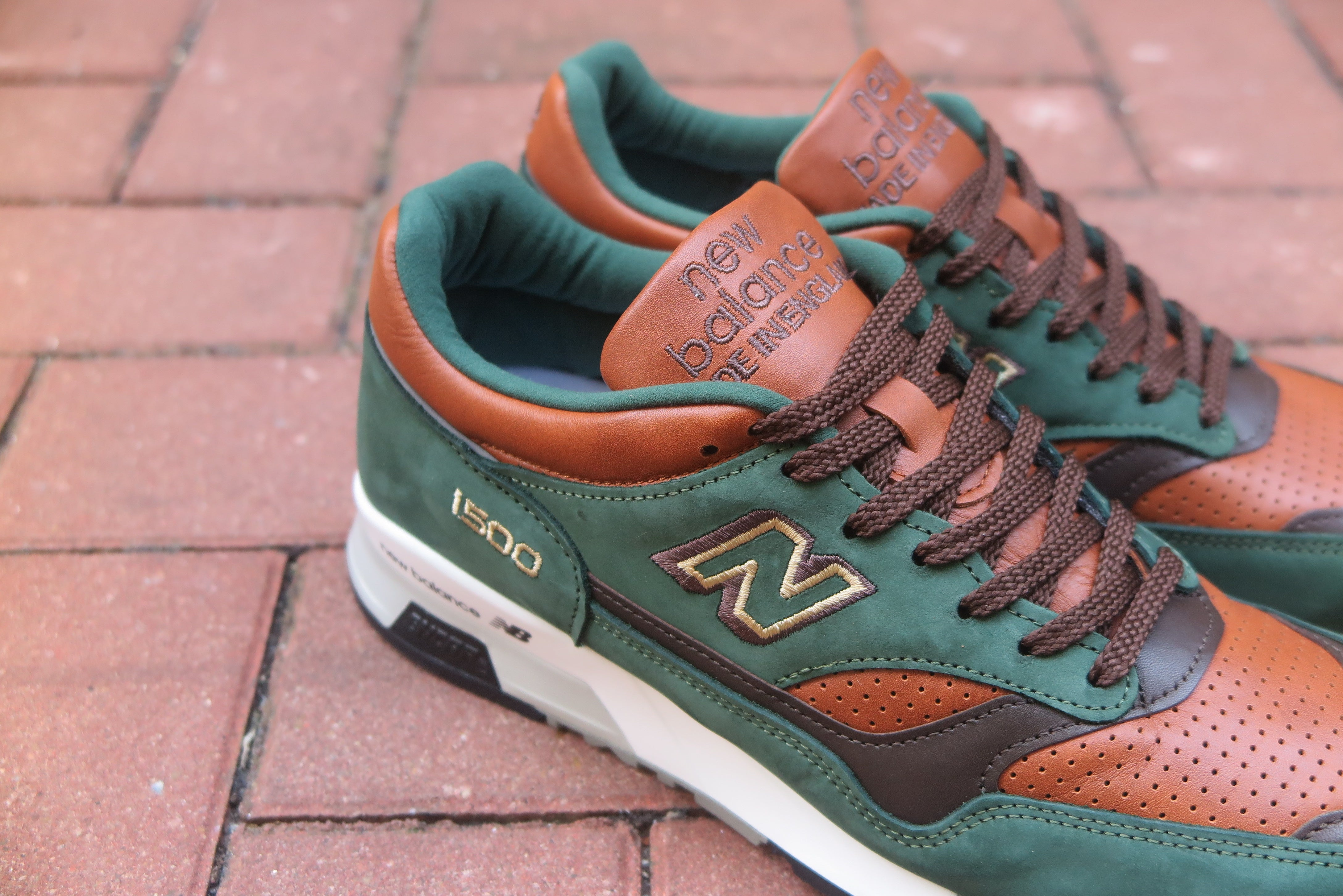 "New Balance M1500GT ""Robin Hood"" Made in England-Sneakers-Navy Selected Shop"
