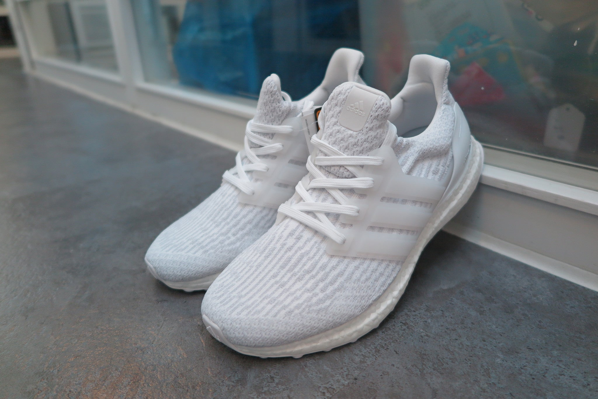a0f5997c1b54 adidas ultra boost white rainbow adidas ultra boost white womens size 5