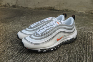 Nike Air Max 97 - White/Cone/Metallic Silver #BQ4567-100-Preorder Item-Navy Selected Shop