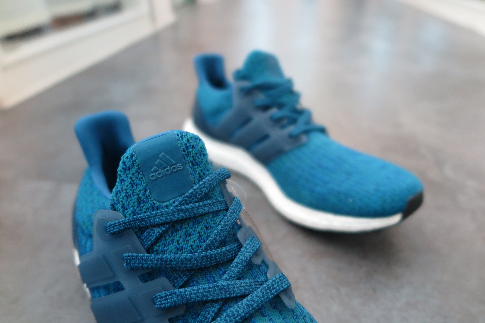 WMNS adidas Ultra Boost 3.0 'Tactile Blue' Sole Individual