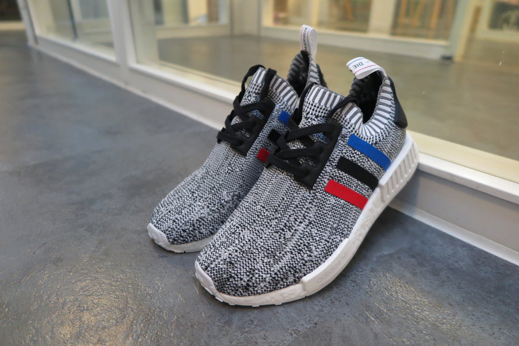 "adidas NMD_R1 Primeknit ""Tri-Color Pack"" - Running White/Core Red/Core Black #BB2888-Preorder Item-Navy Selected Shop"