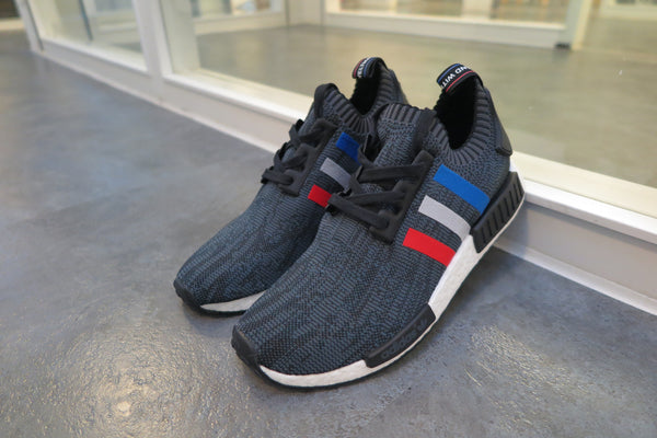 "adidas NMD_R1 Primeknit ""Tri-Color Pack"" - Core Black/Core Red/Running White #BB2887-Preorder Item-Navy Selected Shop"