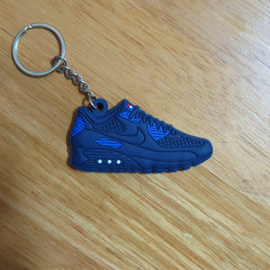 "Nike Air Max 90 Hyperfuse ""Independence Day"" Navy-Key Chain-Navy Selected Shop"