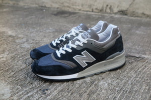 New Balance M997NV Made in USA-Sneakers-Navy Selected Shop