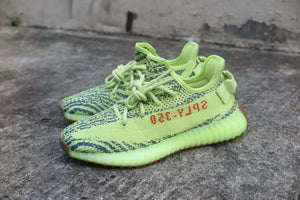 adidas Yeezy Boost 350 V2 - Semi Frozen Yellow #B37572-Sneakers-Navy Selected Shop