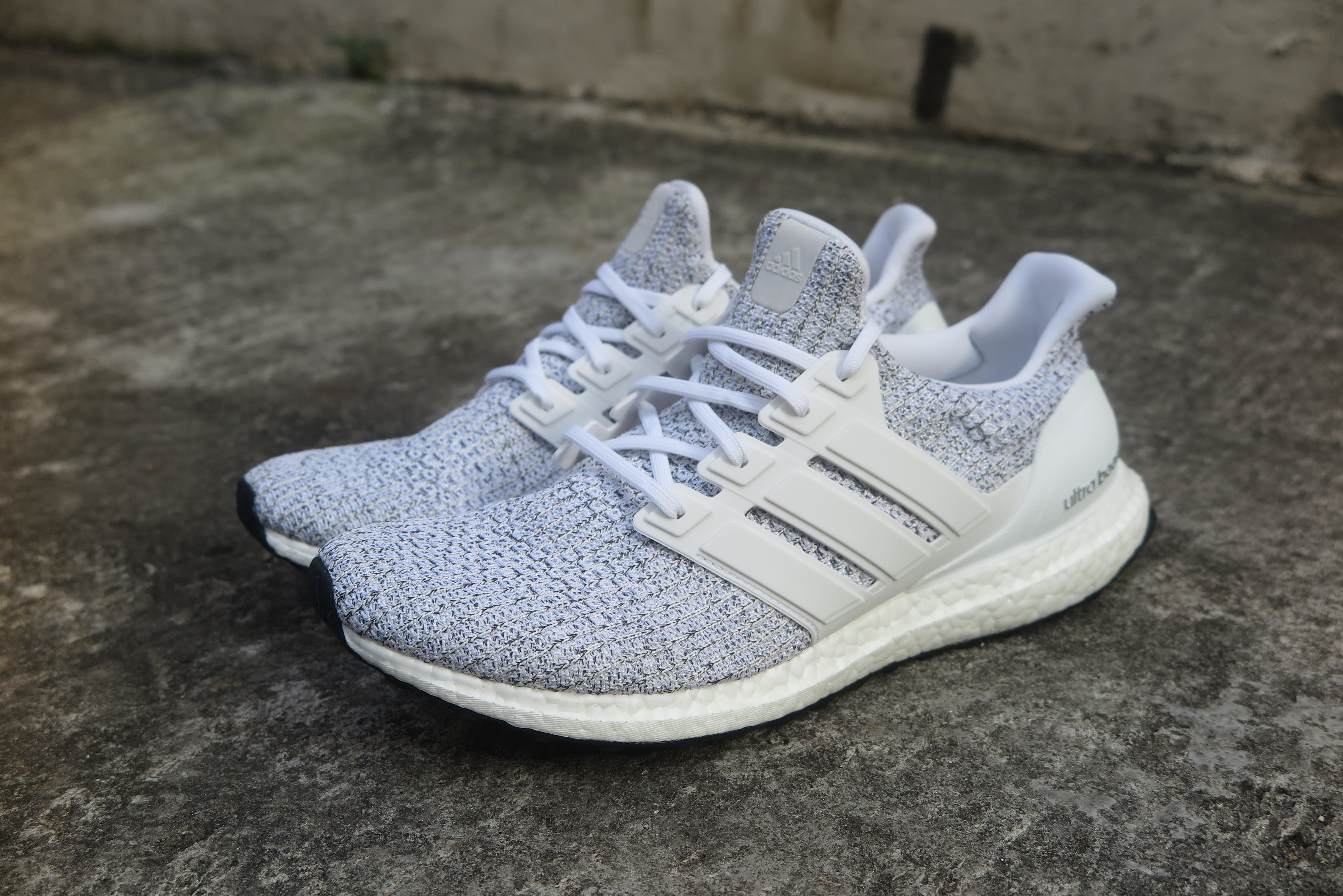 ab6a2b228 adidas Ultra Boost 4.0 - Cloud White Non Dyed Grey  F36155 – Navy ...
