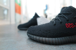STORE LIST: Yeezy Boost 350 v2 Black Red AdultInfant