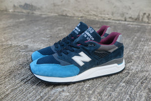 New Balance M998TCA Made in USA-Preorder Item-Navy Selected Shop