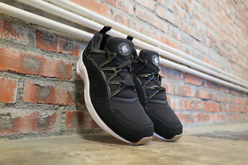 Nike Air Huarache Light in Black/Gum/Light Brown #306127-001-Sneakers-Navy Selected Shop