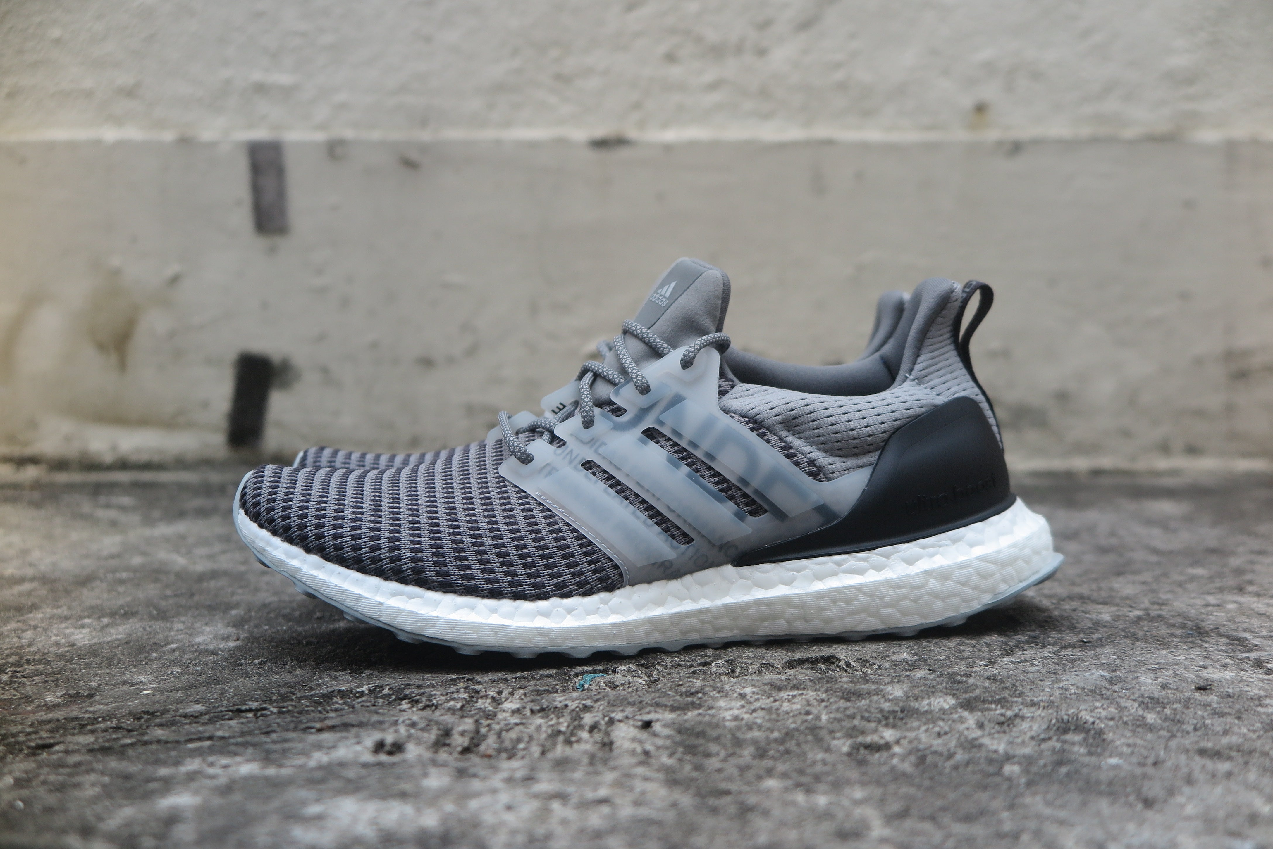 Undefeated x adidas Ultra Boost - Shift Grey Cinder Utility Black  CG7148- 0058770d464c1
