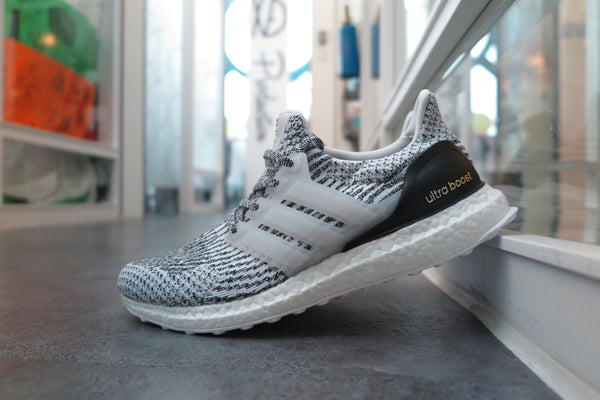"adidas Ultra Boost 3.0 ""Oreo"" - Footwear White/Core Black #S80636-Sneakers-Navy Selected Shop"