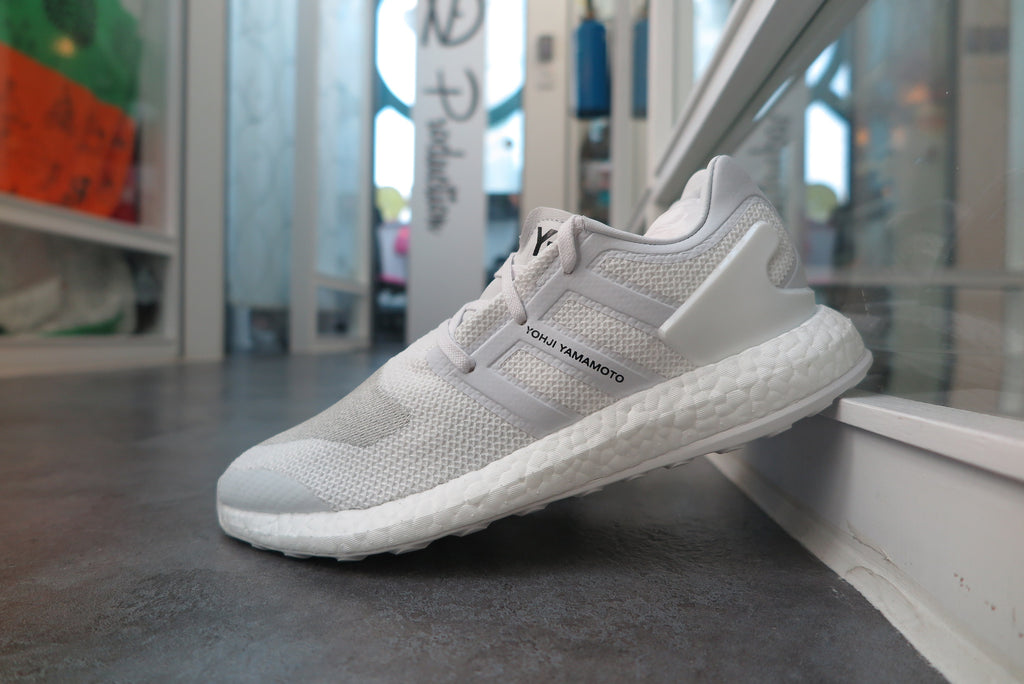 adidas Y-3 Pure Boost - Crystal White/Footwear White #BY8955-Sneakers-Navy Selected Shop