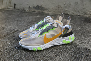 Nike React Element 87 - Light Orewood Brown/Laser Orange #AQ1090-101-Preorder Item-Navy Selected Shop
