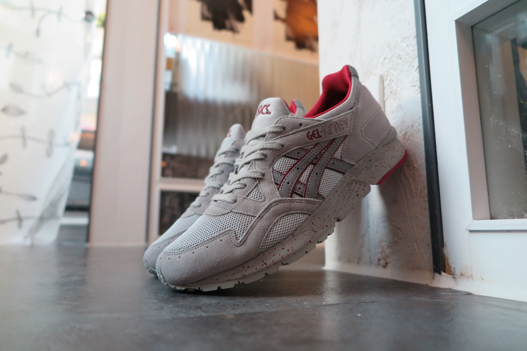 "Asics Gel Lyte V ""Night Shade Pack"" - Light Grey #H5R2N-1313-Sneakers-Navy Selected Shop"