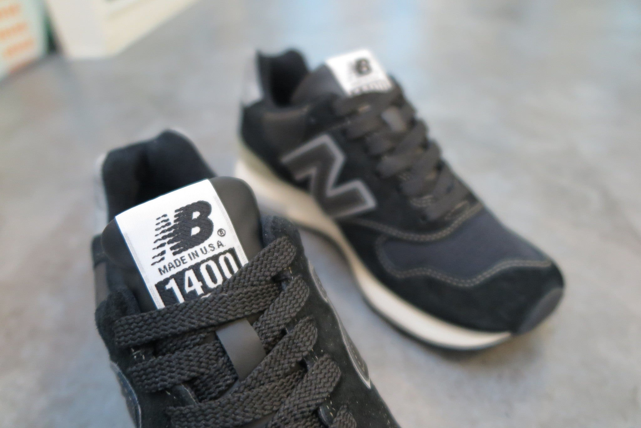 New Balance M1400BKS Made in USA-Sneakers-Navy Selected Shop