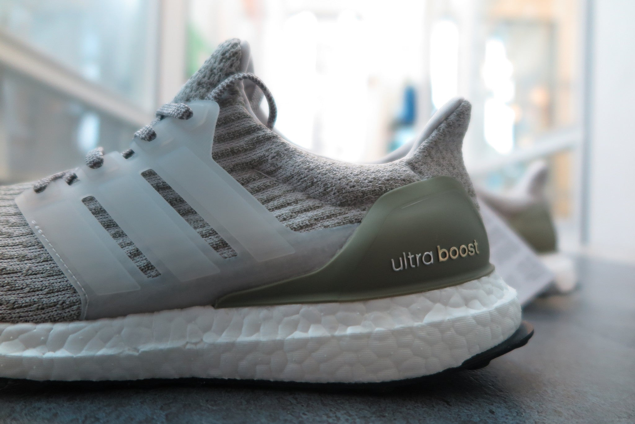 adidas Ultra Boost 3.0 - Pearl Grey/Olive Copper #BA8847-Sneakers-Navy Selected Shop