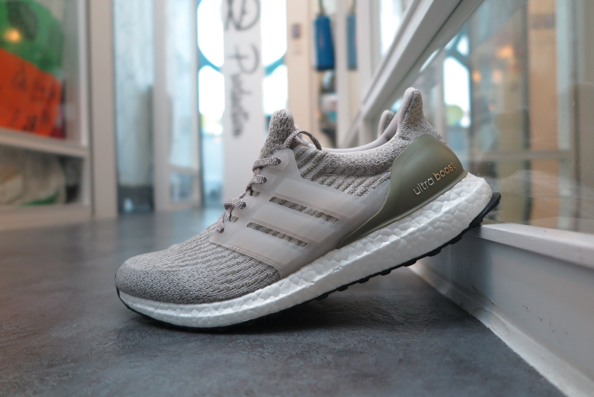 BUY Adidas Ultra Boost 3.0 Grey Tan