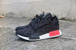 adidas NMD_TS1 Primeknit GoreTex - Core Black/Carbon/Shock Red #BD8078-Preorder Item-Navy Selected Shop