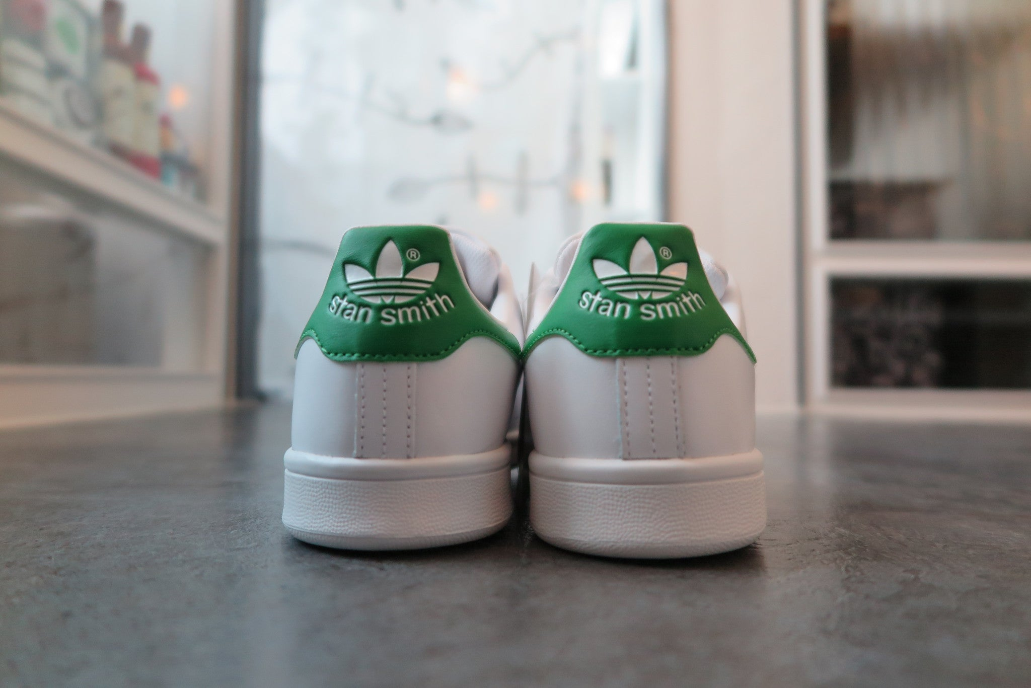 adidas Stan Smith OG - Running White/Fairway #M20324-Sneakers-Navy Selected Shop