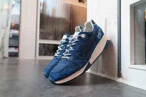"KITH X Slam Jam x Diadora V7000 ""Yvan"" Made in Italy #501.170195-60024-Sneakers-Navy Selected Shop"