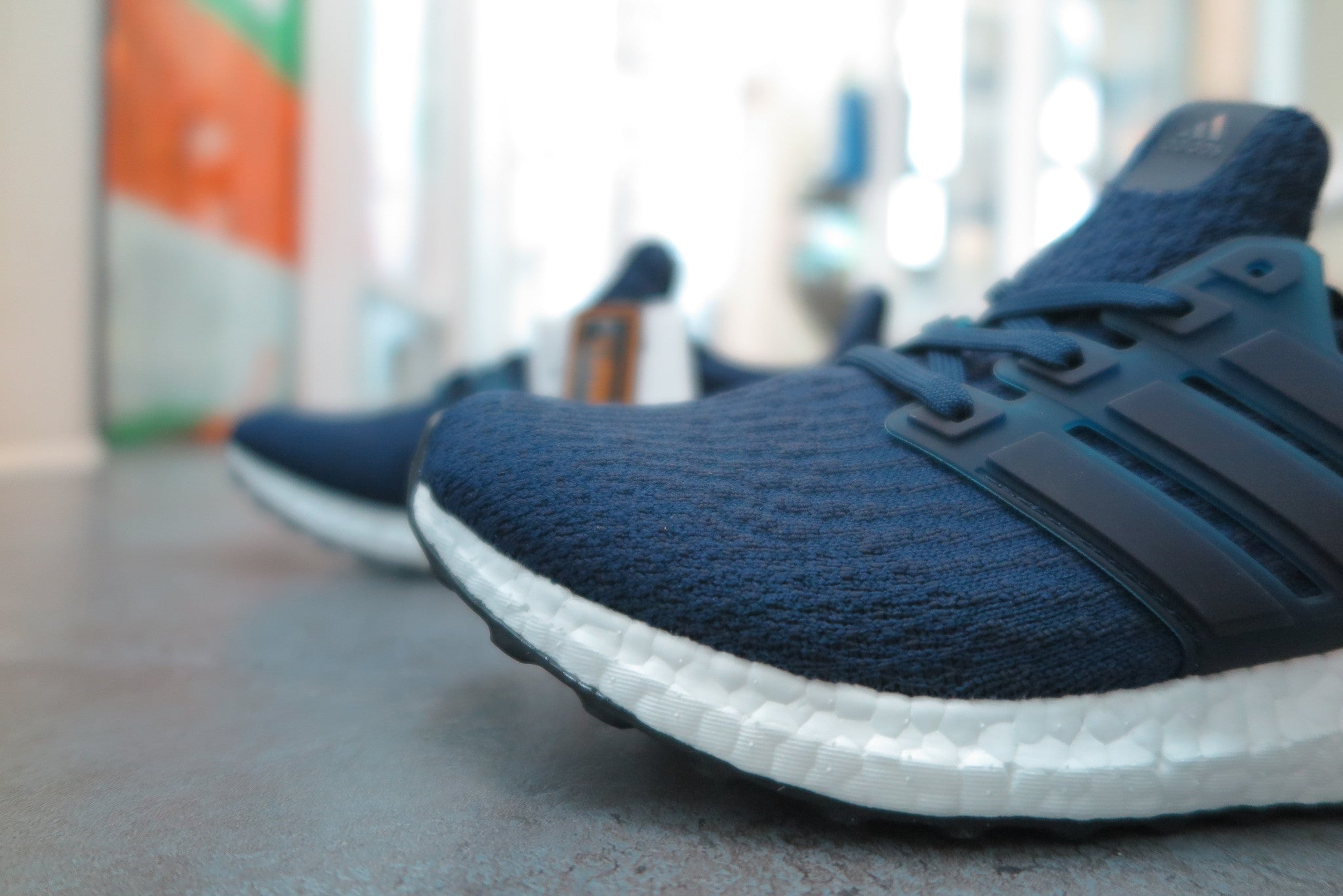 adidas Ultra Boost 3.0 - Collegiate Navy/Night Navy #BA8843-Sneakers-Navy Selected Shop