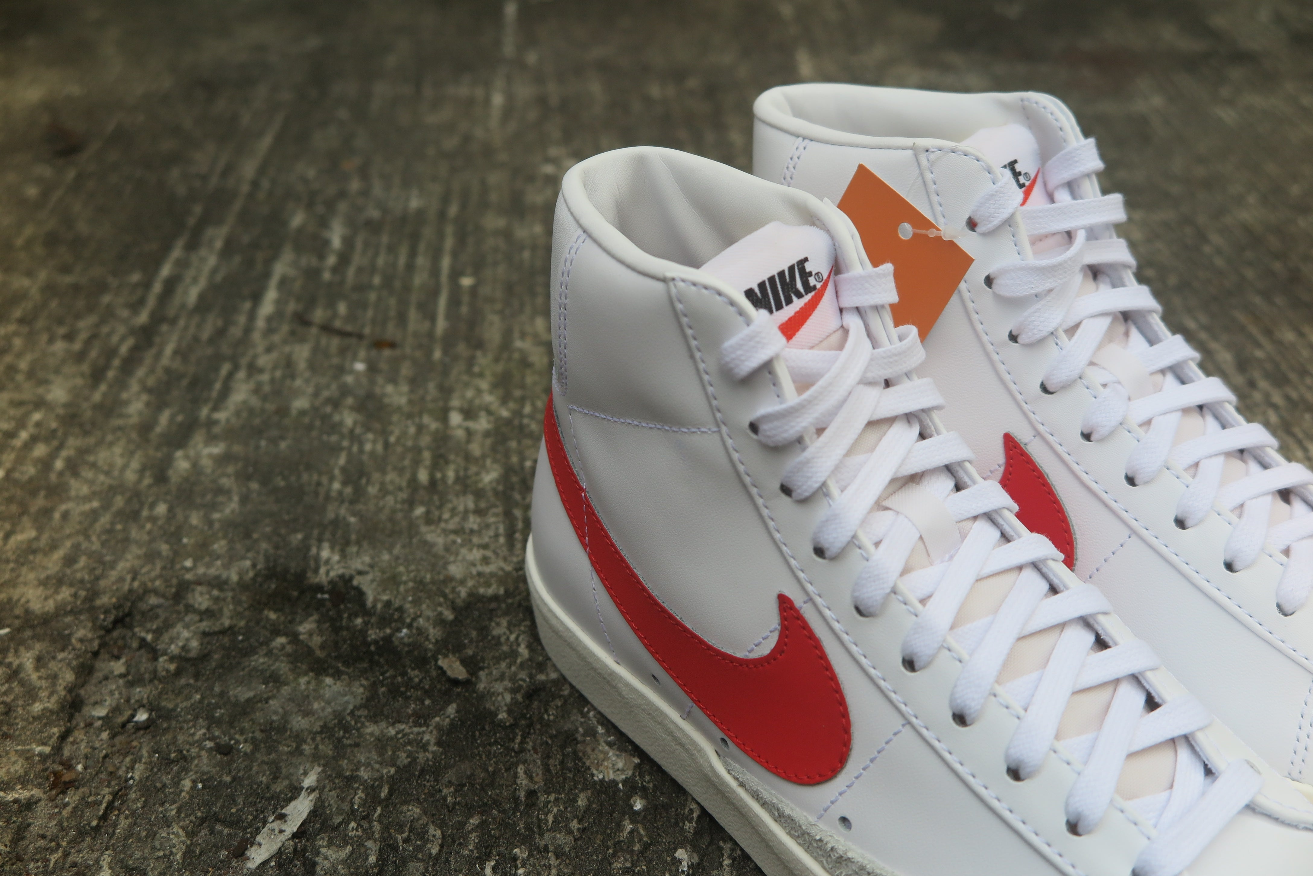 Nike Blazer Mid '77 VNTG - Habanero Red/Sail/White #BQ6806-600-Preorder Item-Navy Selected Shop