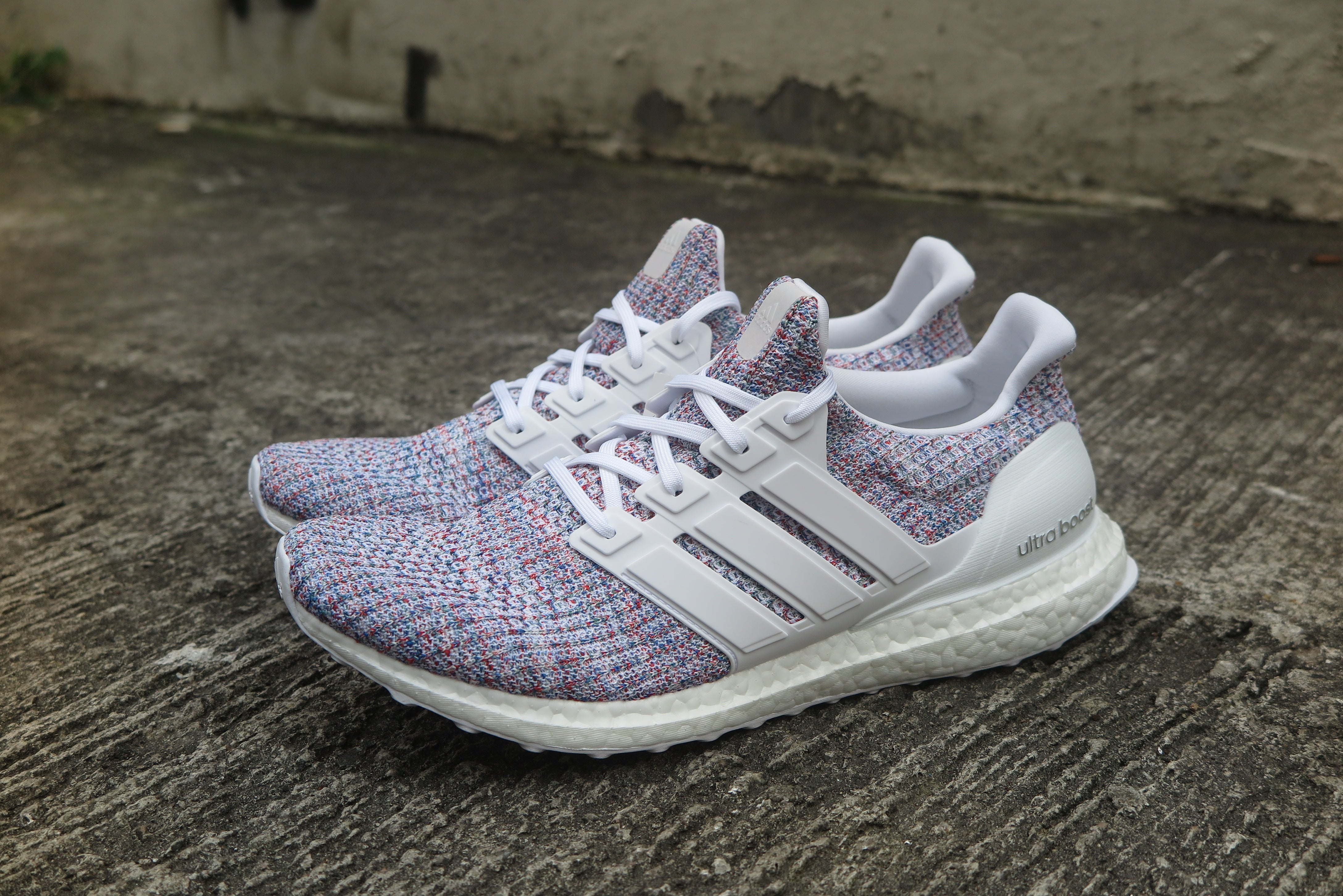 "adidas Ultra Boost 4.0 ""Multi-Color 2.0"" - Footwear White/Blue #DB3198-Preorder Item-Navy Selected Shop"