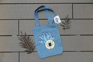 Belongs To J. Miss Moon Tote Bag - Denim-Bag-Navy Selected Shop