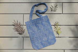 Belongs To J. Multi Blue Tote Bag - Multi-Bag-Navy Selected Shop