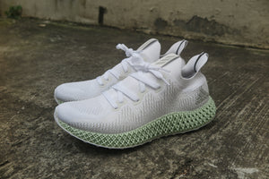 adidas WMNS Alphaedge 4D - Footwear White/Footwear White #AQ0742-Preorder Item-Navy Selected Shop
